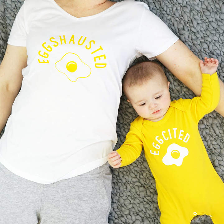 Sparks And Daughters Egghausted Pyjama Set