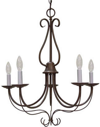 Volume Lighting Minster 5-Light Candle-Style Hanging Chandelier