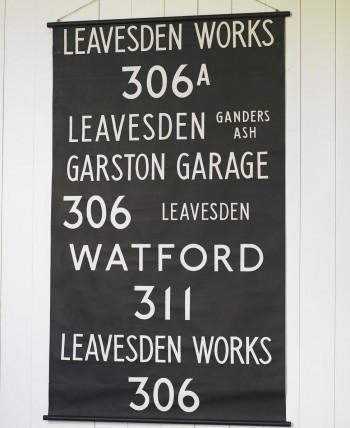 Vintage London Bus Art