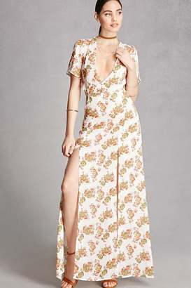 FOREVER 21+ Nightwalker Floral Maxi Dress $68 thestylecure.com