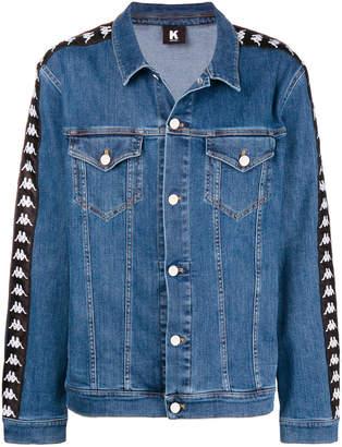 Kappa logo denim jacket