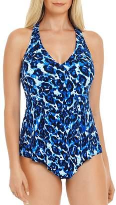 Magicsuit Blue Tide Taylor Tankini Top