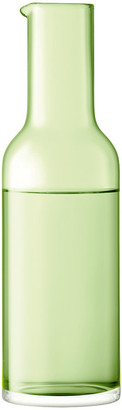 LSA International Hint Blown Glass Carafe - 1.2L - Pale Lime