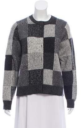 Marc Jacobs Cashmere Plaid Sweater