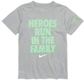 Nike Dry Optical Heroes Graphic T-Shirt