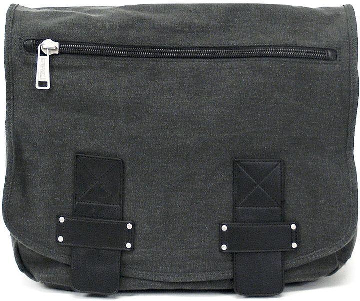 Kenneth Cole Reaction Messenger, Canvas Single Gusset Bag