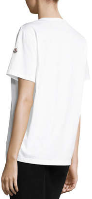 Moncler Basic Cotton T-Shirt