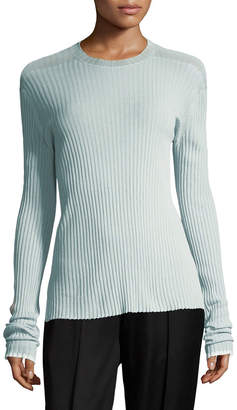 Celine Ribbed Knit Pullover