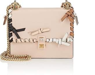 Fendi Women's Kan I Small Leather Shoulder Bag