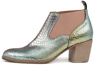 Django & Juliette Backfire Rainbow metalli Boots Womens Shoes Ankle Boots