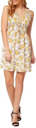 Dex Floral A-Line Dress
