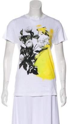 Christopher Kane Rose Graphic T-Shirt