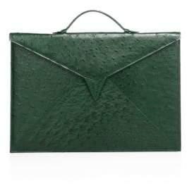 Ethan K Sir Tillman Ostrich Briefcase