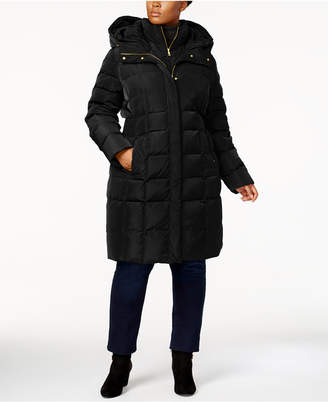 738ba529732 Cole Haan Plus Size Layered Down Puffer Coat