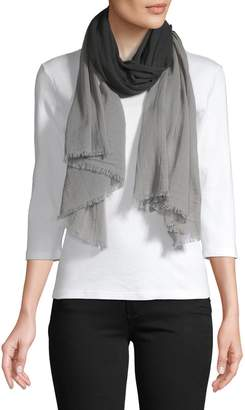 Eileen Fisher Ombre Cotton Scarf