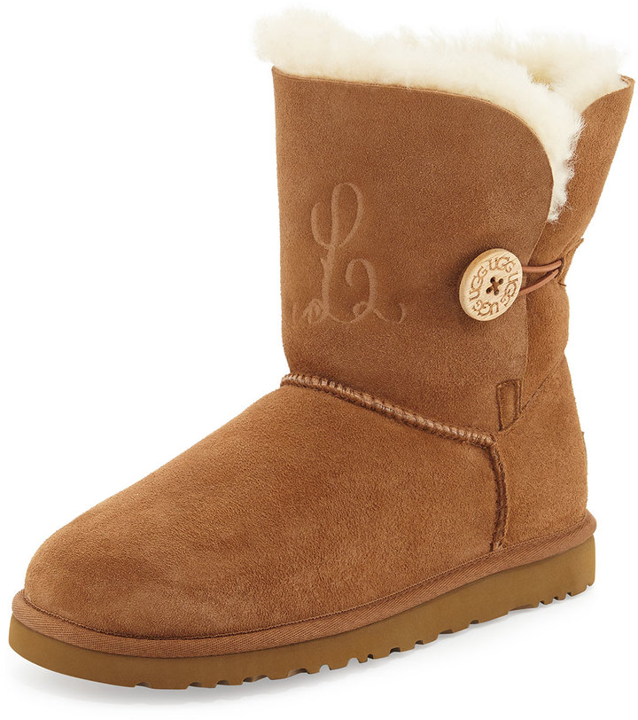 UGG Bailey Button Short Boot