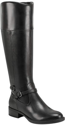 Easy Spirit Leigh Wide Calf Riding Boots Women Shoes