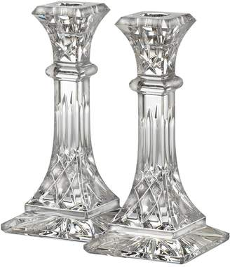 Waterford Lismore tall candlestick set of 2