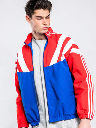 adidas Balanta Track Jacket in Red