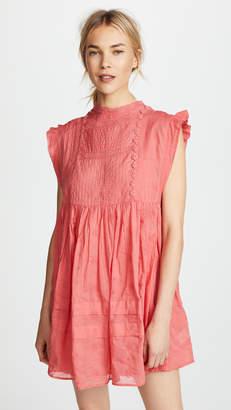 Free People Nobody Like You Embellished Mini Dress