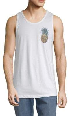 Riot Society Pineapple Cotton Tank Top