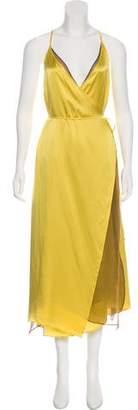 Y/Project Silk Midi Dress