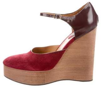 Chloé Ankle Strap Wedges w/ Tags