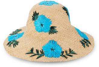 Gottex Women's Punta Cana Embroidered Floral Sun Hat