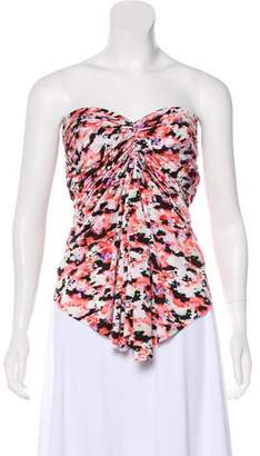 Etoile Isabel Marant Ruched Strapless Top