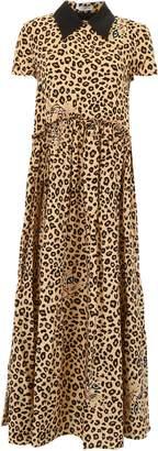 Vivetta Leopard-printed Finer Dress