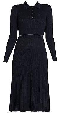 Prada Women's Ribbed Sweater Dress