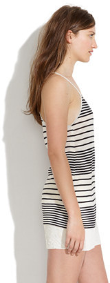 Madewell Soft Cami Tank in Stripe