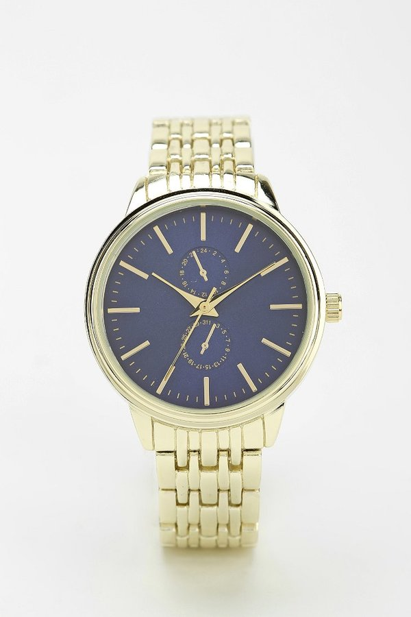 Urban Outfitters Classic Sports Bracelet Watch