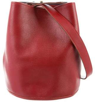 Creatures of Comfort Bicolor Leather Bucket Bag