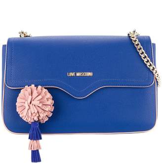 Love Moschino pompom-detail satchel