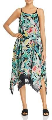 Johnny Was Lomi Floral-Print Midi Tank Dress