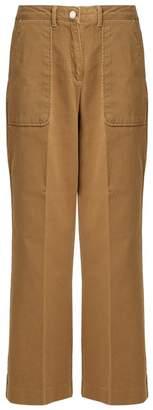 Vanessa Bruno Galopa stretch-cotton trousers