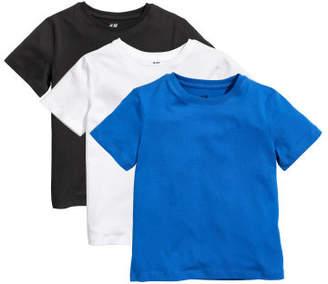 H&M 3-pack T-shirts - Blue
