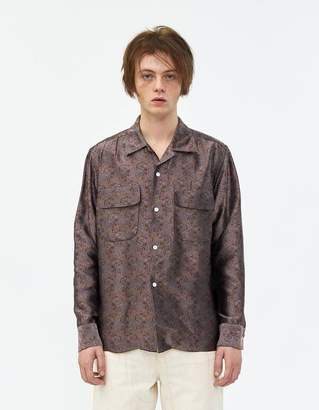 Needles Cut-Off Bottom Classic Shirt in Rose