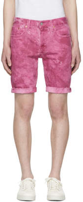 Levi's Levis Pink Denim 511 Cut-Off Shorts