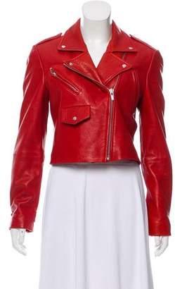 Veda Leather Biker Jacket