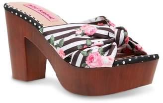 Betsey Johnson Moscow Platform Sandal