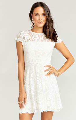 Show Me Your Mumu Alyce Dress ~ Darling Lace White