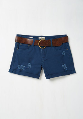 Dollhouse Canoes Flash Shorts in Navy $44.99 thestylecure.com