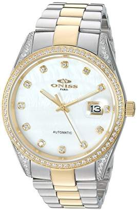 Oniss Paris ' Allure Collection' Japanese Automatic Two-Tone and Stainless Steel Dress Watch