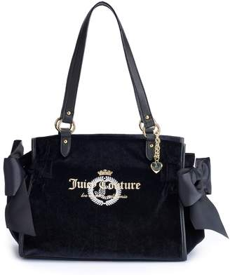 Juicy Couture Glitteratzi Satchel Bag