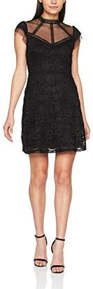 New Look Women's Victoriana Lace Skater Party Dress,6