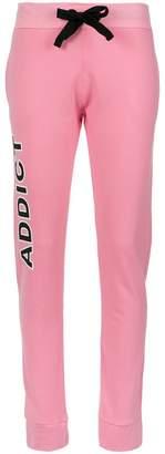Andrea Bogosian Addict print track trousers