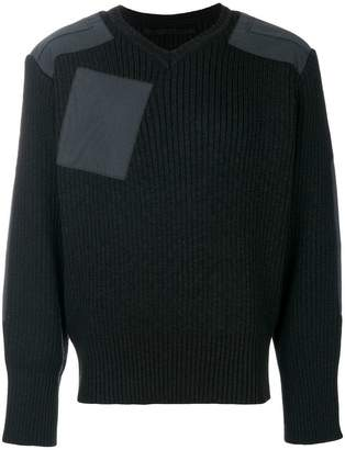 Julius patch pocket sweater