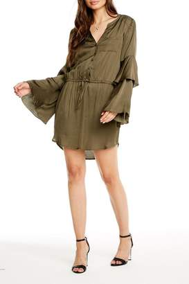 Chaser Bell Sleeve Button-Down